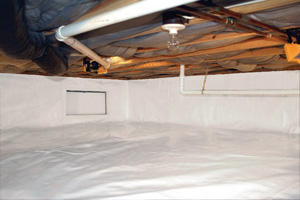 Crawl Space Repair After in Summerville