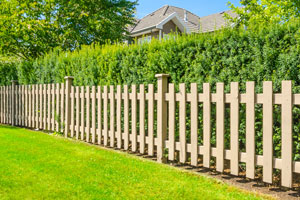 wood fence installation in Mount Pleasant