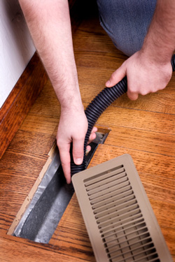 Duct cleaning to improve air quality in SC homes