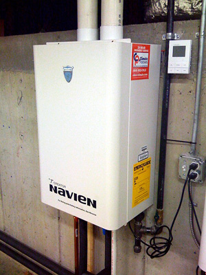 Tankless water heater installation & replacement in Summerville
